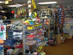 Windsor Bait and Tackle interior